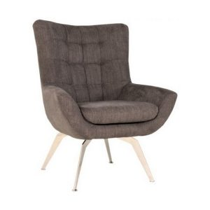 Loft Metal Legs  Lounge Chair