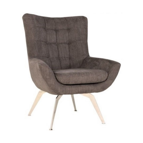 Loft Metal Legs Lounge Chair