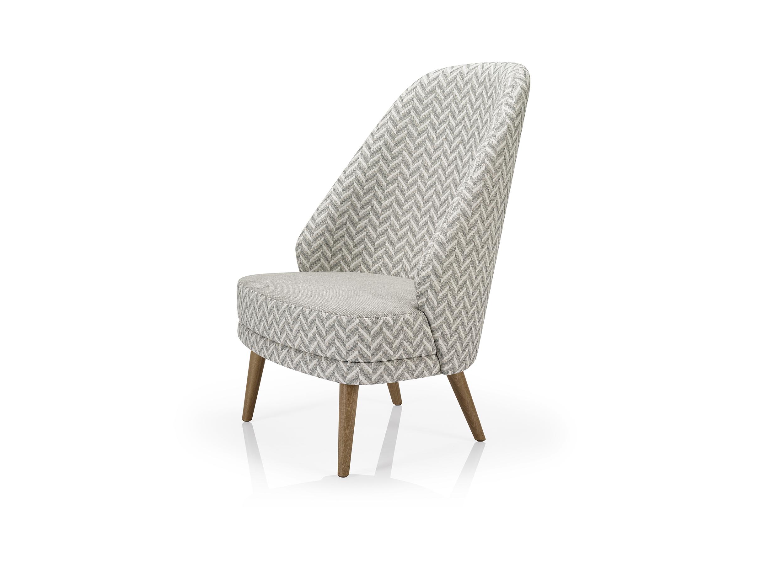 Alisa Lounge Chair High Back