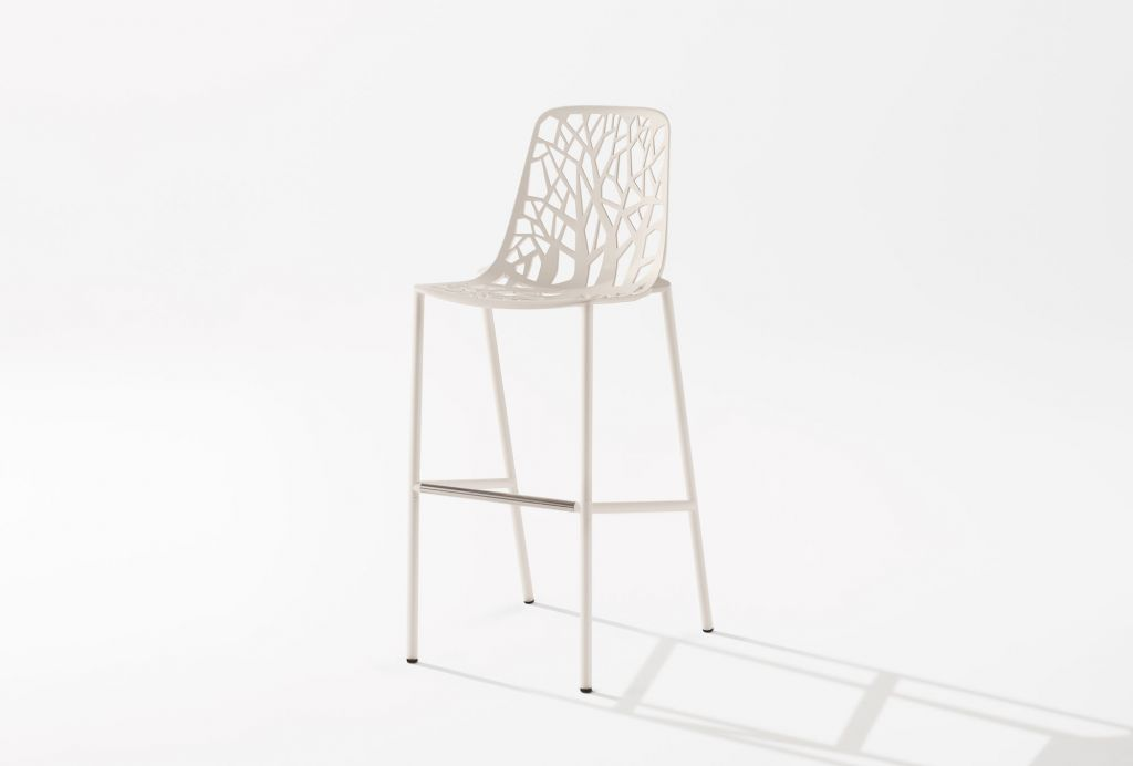 Forest High Stool with Back